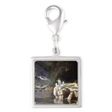 Abbey,_Edwin_Austin_-_Fairies Silver Square Charm