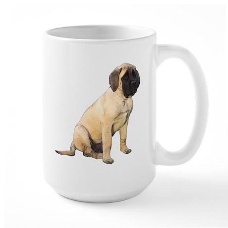 Watercolor of Fergus - Large Mug