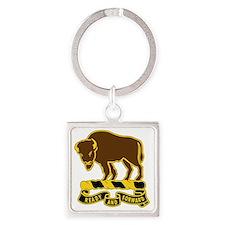 10 Cavalry Regiment Square Keychain