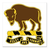 10th cavalry Square Car Magnets