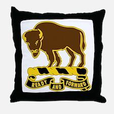 10 Cavalry Regiment Throw Pillow