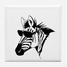 Refs Suck (black) Tile Coaster