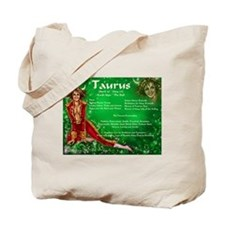 Goddess Taurus Tote Bag