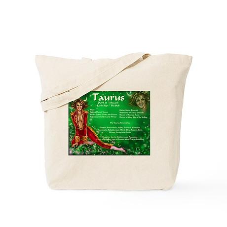 Goddess Taurus Tote Bag