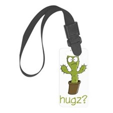 cactus wh Luggage Tag
