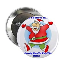 "Santa Bills 10x10 2.25"" Button"