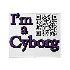Secondi - Im a Cyborg Throw Blanket