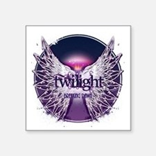 """breaking dawn with wings an Square Sticker 3"""" x 3"""""""