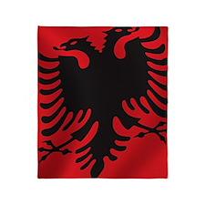 albania_flag Throw Blanket