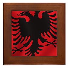 albania_flag Framed Tile