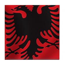 albania_flag Tile Coaster