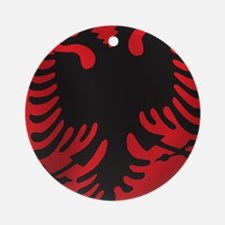 albania_flag Round Ornament