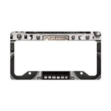 BOOM BOX LAPTOP SKIN License Plate Holder