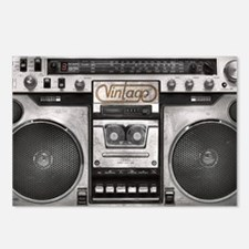BOOM BOX LAPTOP SKIN Postcards (Package of 8)