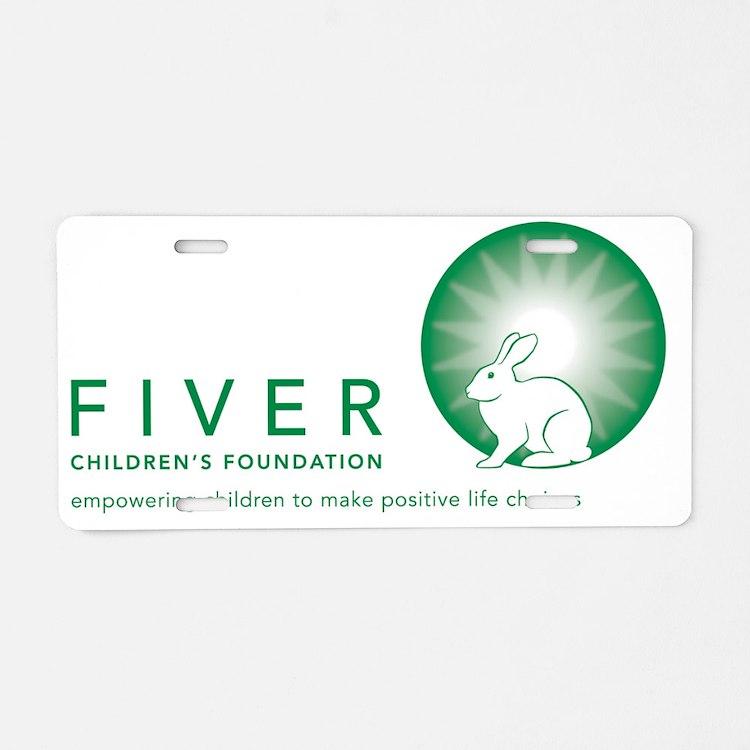 Final Fiver Complete Logo w Aluminum License Plate
