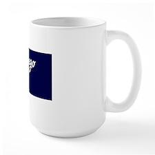 San Diego Script Magnet Mug