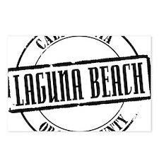 Laguna Beach Title W Postcards (Package of 8)