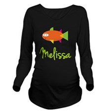 Melissa-the-big-fish Long Sleeve Maternity T-Shirt