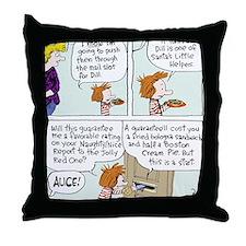 Bribing Dill Throw Pillow