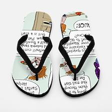 Bribing Dill Flip Flops