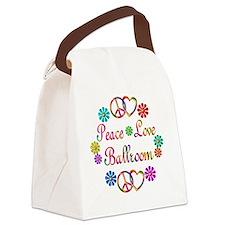 ballroom Canvas Lunch Bag
