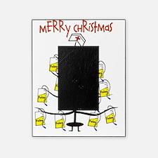 Merry Christmas Nurse Tree Foley Bag Picture Frame