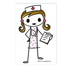 nurse Postcards (Package of 8)