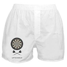 dartboard_5x3rect_sticker Boxer Shorts