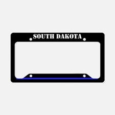South Dakota Police License Plate Holder