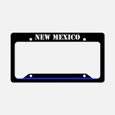 New Mexico Police License Plate Holder