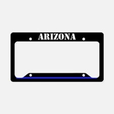 Arizona Police License Plate Holder