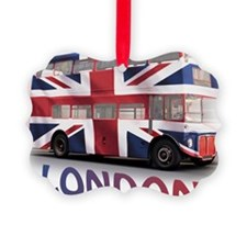 497 London Bus with Union Jack an Ornament