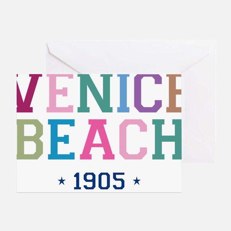 Venice Beach 1905 B Greeting Card