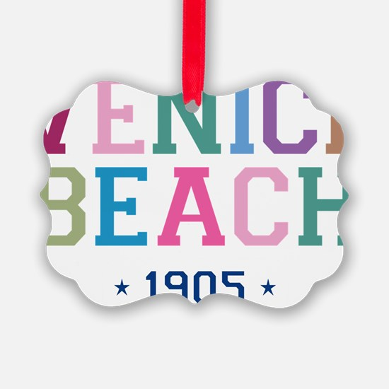 Venice Beach 1905 B Ornament