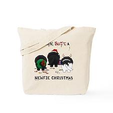 NewfieShirtLight Tote Bag