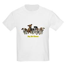 PUPPY 1160 Buy Me Flowers Kids T-Shirt