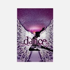Dance Take Flight by DanceShirts. Rectangle Magnet