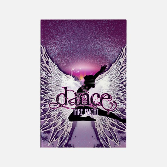Dance Take Flight by DanceShirts. Rectangle Magnet
