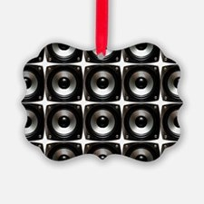 wall of speakers Ornament