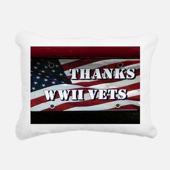 WW11.06x6.637 Rectangular Canvas Pillow