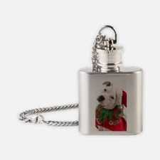 Pit Bull Tia Flask Necklace