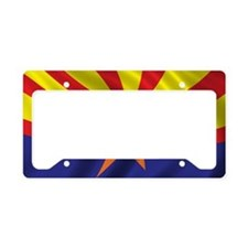 arizona_flag License Plate Holder