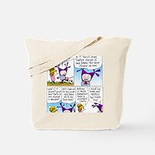 Santa Trap Tote Bag