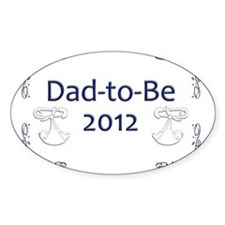 Yard_Dad-to-be12 Decal