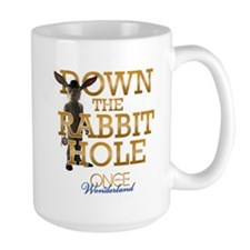 Down The Rabbit Hole Ceramic Mugs
