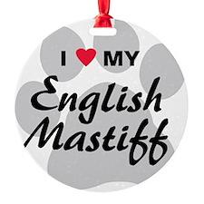 english-mastiff Ornament