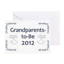 Yard_Grandparents-to-be-12 Greeting Card