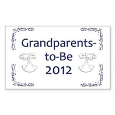Yard_Grandparents-to-be-12 Decal