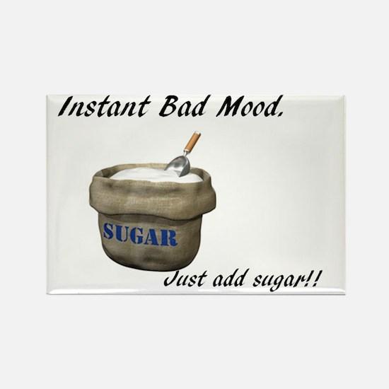 Instant Bad Mood Rectangle Magnet