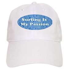 Surfing Is My Passion Baseball Cap